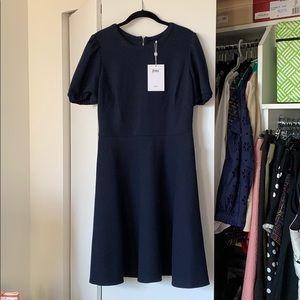 Navy Gal Meets Glam Dress